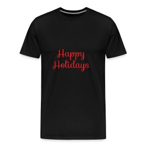 Cool happy holidays Christmas - Men's Premium T-Shirt
