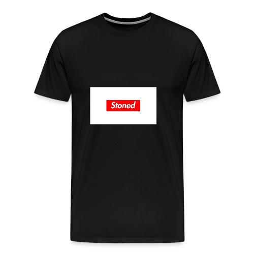 stoned - Männer Premium T-Shirt