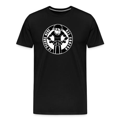 logo_pecora - Maglietta Premium da uomo
