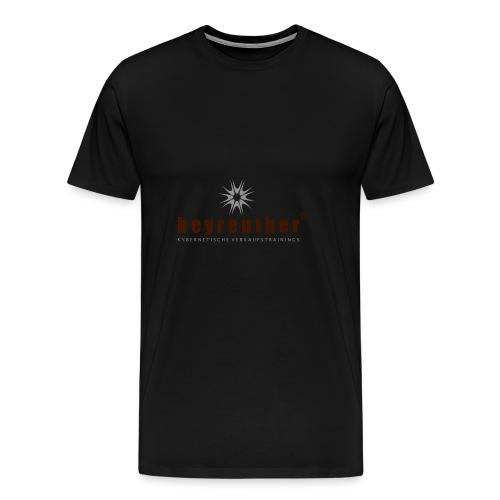 Logo beyreuther verkaufstrainer - Männer Premium T-Shirt