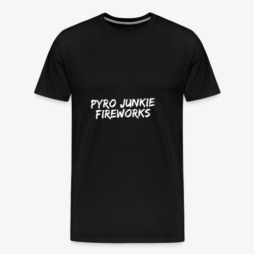 Pyro Junkie Fireworks - Männer Premium T-Shirt