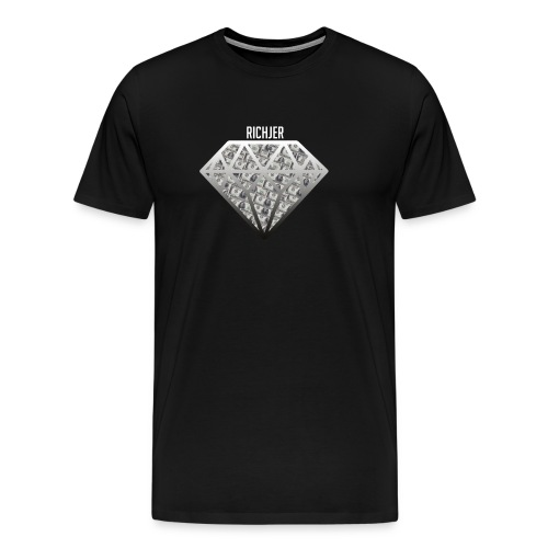 RichJer Diamant - Männer Premium T-Shirt