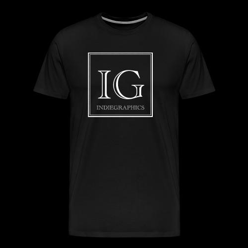 Indie Graphics Logo - Männer Premium T-Shirt