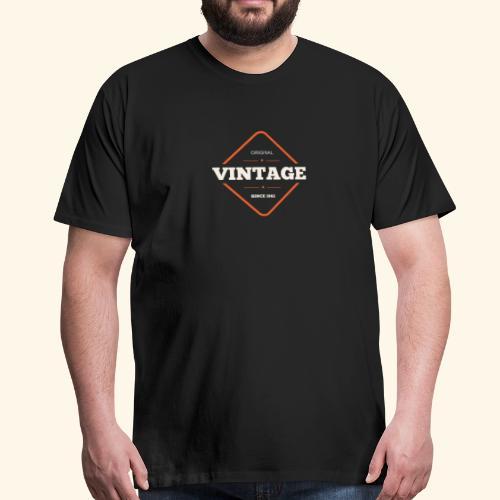 1982 Vintage - Männer Premium T-Shirt