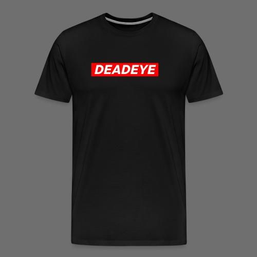 DeadEYE BOXLOGO - Premium T-skjorte for menn