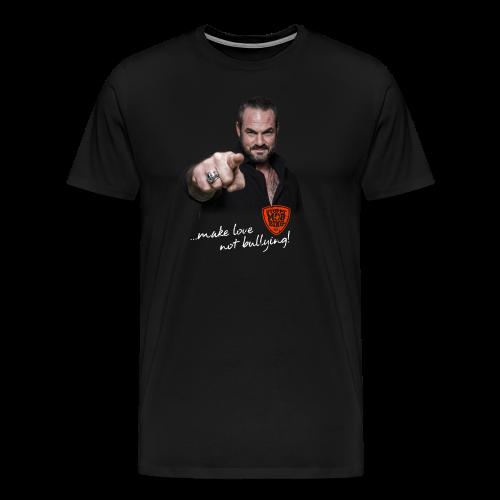 Carsten Stahl - Make Love Not Bullying! - Männer Premium T-Shirt