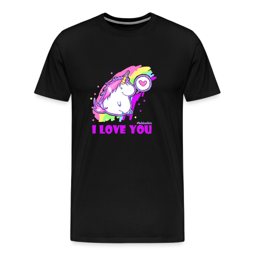 unicorn_love - Männer Premium T-Shirt