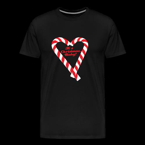 Candy Cane - It's Christmas, Baby! - Männer Premium T-Shirt