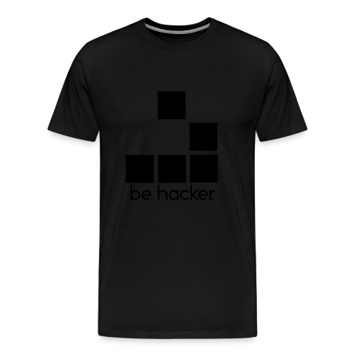be_hacker-png - Maglietta Premium da uomo