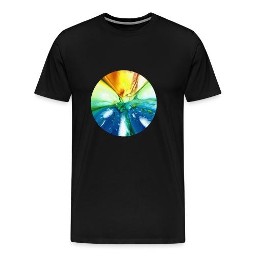 Kreismuster 7 - Männer Premium T-Shirt