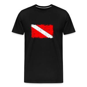 DIVERTURE Flag - Männer Premium T-Shirt