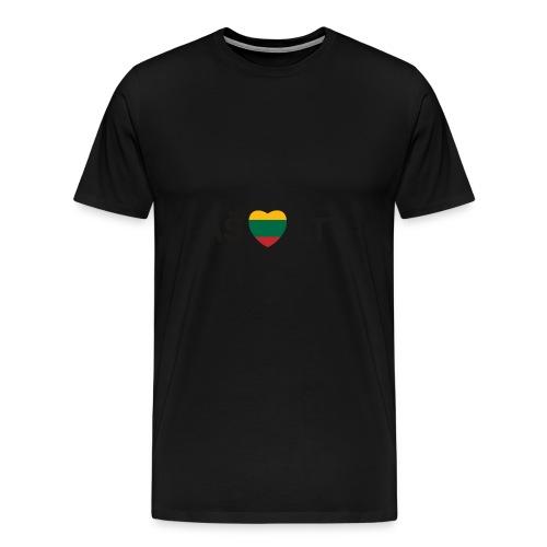 I Live LTU - Men's Premium T-Shirt