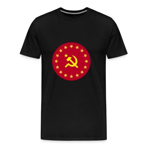 Communist Coat of Arms - Premium-T-shirt herr