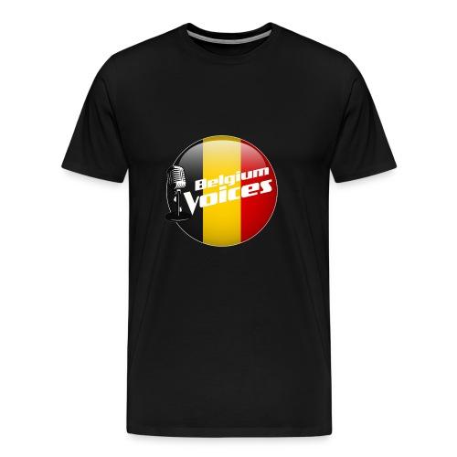 Je soutiens Belgium Voices - T-shirt Premium Homme