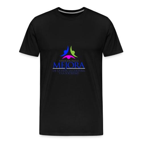 Logo Fundacion Mejora - Camiseta premium hombre