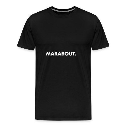 MARABOUT® - Wij helpen, Gambia ontwikkelt - Mannen Premium T-shirt