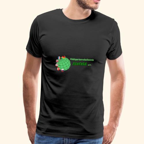 Städtepartnerschaft Alsfeld - Männer Premium T-Shirt