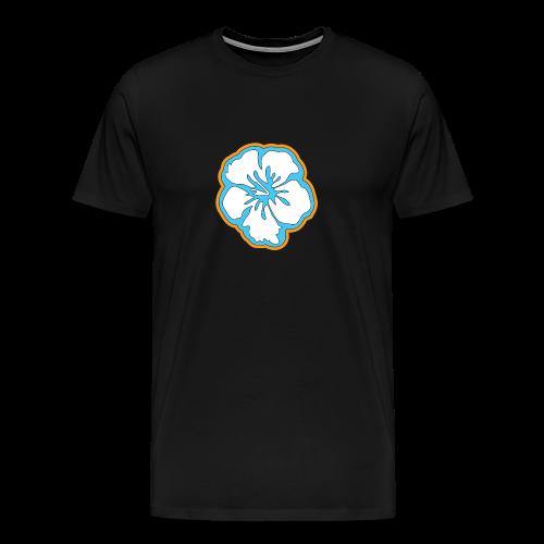Hibiskus - Männer Premium T-Shirt