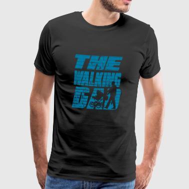 1Le papa marche 01 - T-shirt Premium Homme
