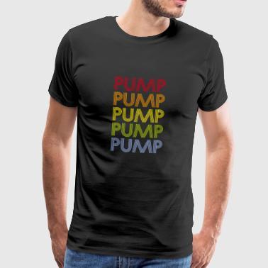 Pompy mięśniowej koszulka - Koszulka męska Premium