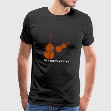 SIZE spelar roll - Premium-T-shirt herr