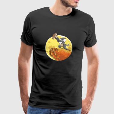 Jalkapallo hassu humoristinen lahja syntymäpäivä makea - Miesten premium t-paita