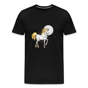 moonlight the unicorn - Men's Premium T-Shirt