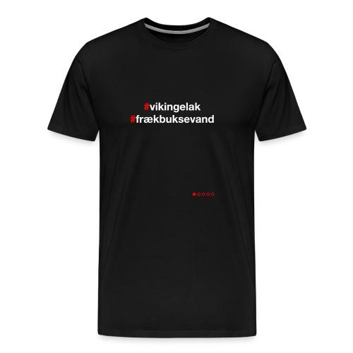 Hashtag - Herre premium T-shirt