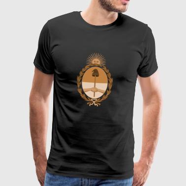 Wappen von Argentinien - Männer Premium T-Shirt