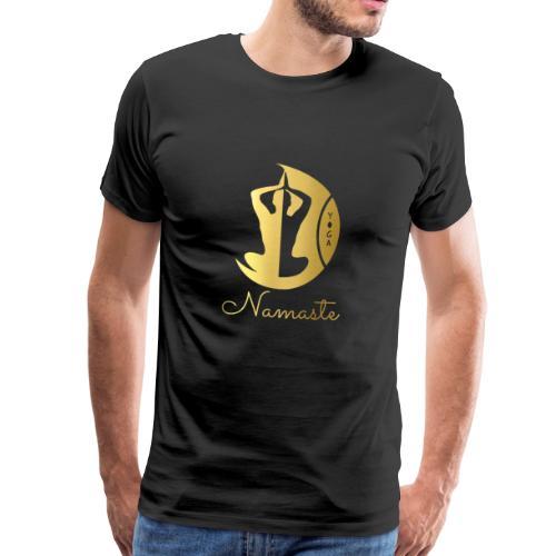 RUBINAWORLD Namaste Yoga - Men's Premium T-Shirt