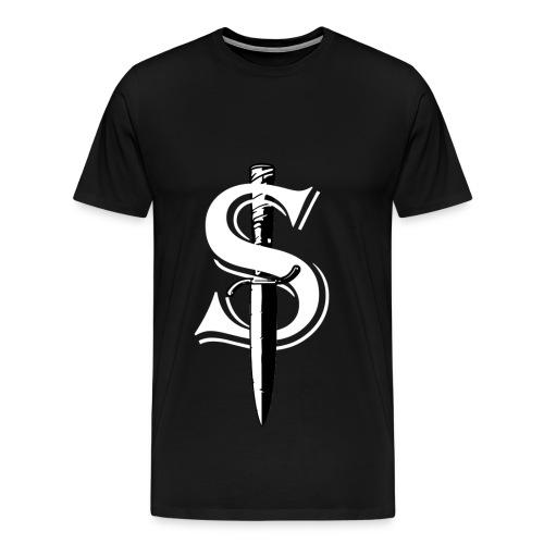 White Dagger S - Maglietta Premium da uomo