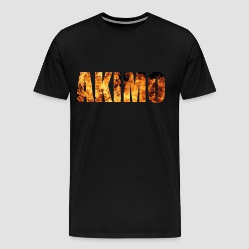 AKIMO Basic Fire - Männer Premium T-Shirt