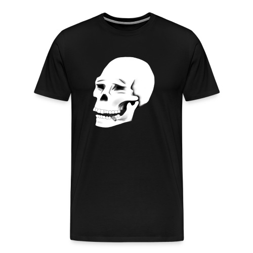 SMOKE KILLS (White version) - Miesten premium t-paita