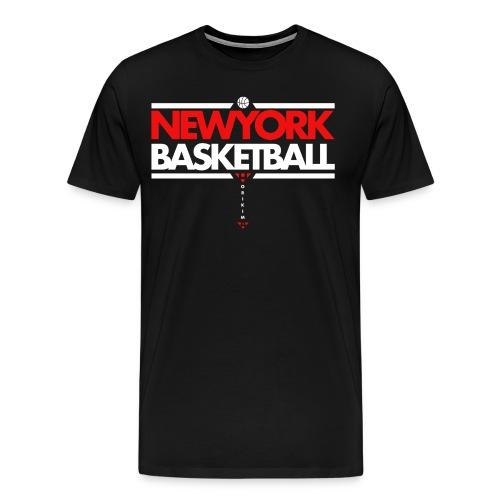 Horikima NY Basketball Men's T-Shirt - Männer Premium T-Shirt