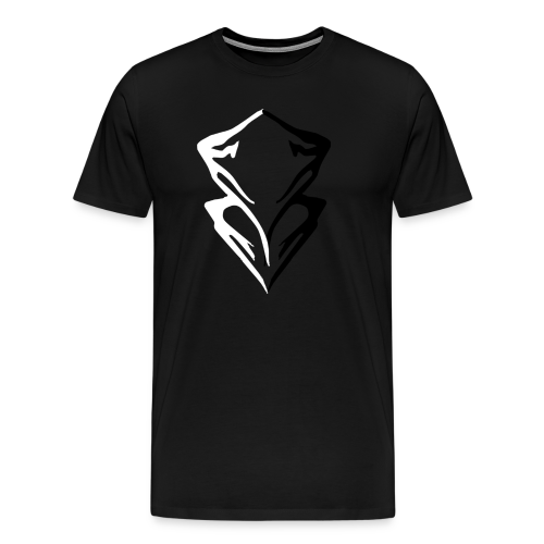 Summit Mountain Logo - Men's Premium T-Shirt