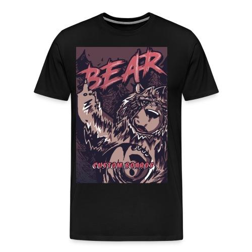 Face Bear Fuck Off - T-shirt Premium Homme