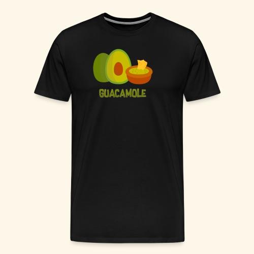Guacamol1e - Premium-T-shirt herr