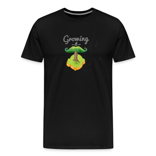 Moustache tree - Men's Premium T-Shirt