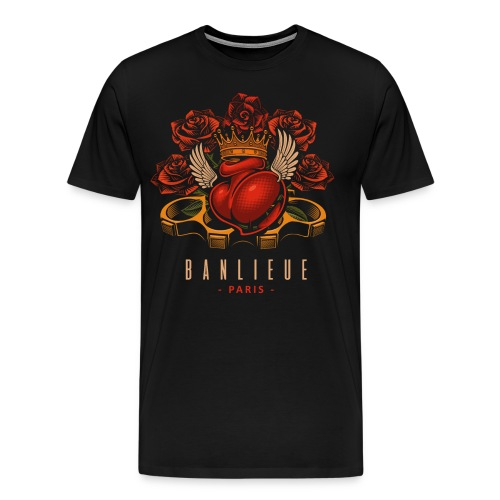 banlieu paris by chicoballito - Männer Premium T-Shirt