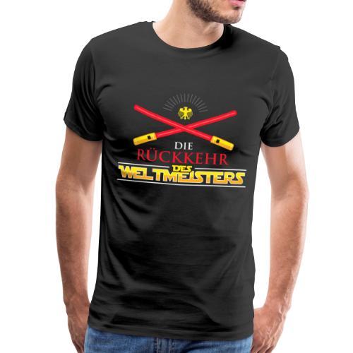 Weltmeisterschaft 2018, Rückkehr des Weltmeisters - Männer Premium T-Shirt