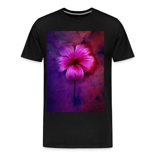 Tropical Hibiscus - Men's Premium T-Shirt