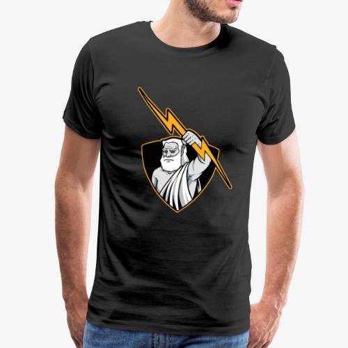 Elektriker I Blitz Donner und Zeus Geschenk - Männer Premium T-Shirt