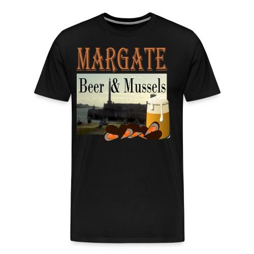 Beer and Mussels - Men's Premium T-Shirt