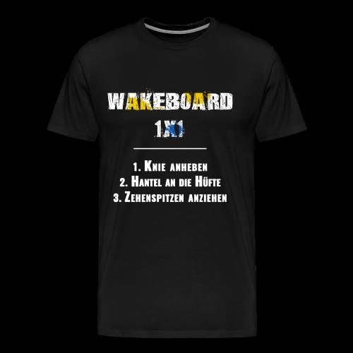 Wakeboard 1x1 - Männer Premium T-Shirt