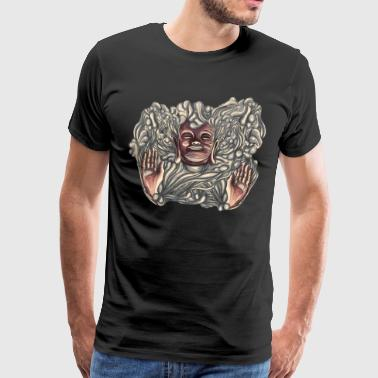 Buddha Bath - Men's Premium T-Shirt