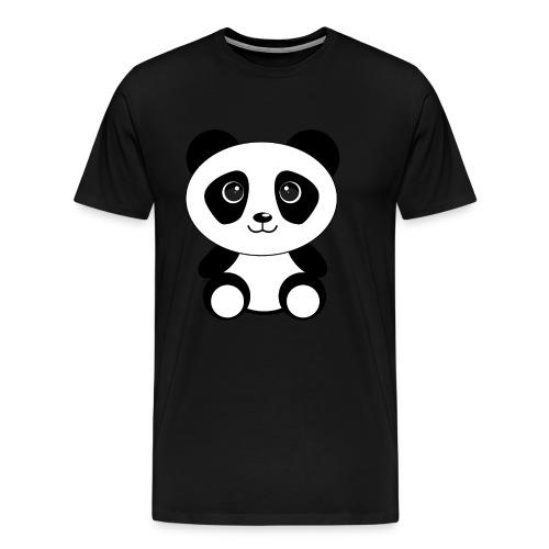 PandaGun-Icon - Männer Premium T-Shirt