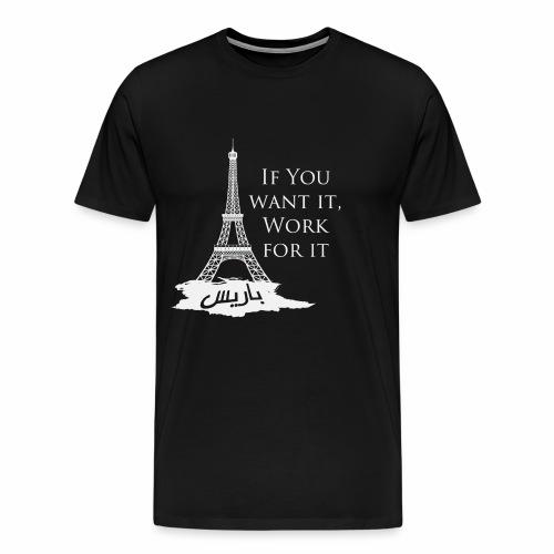 Paris dream work - T-shirt Premium Homme