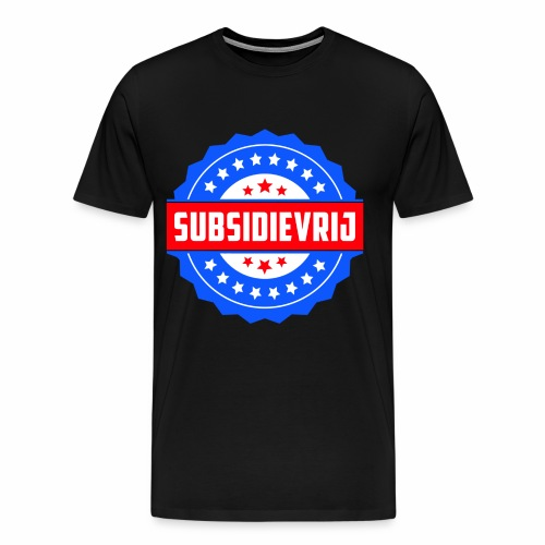 Subsidievrij - Mannen Premium T-shirt