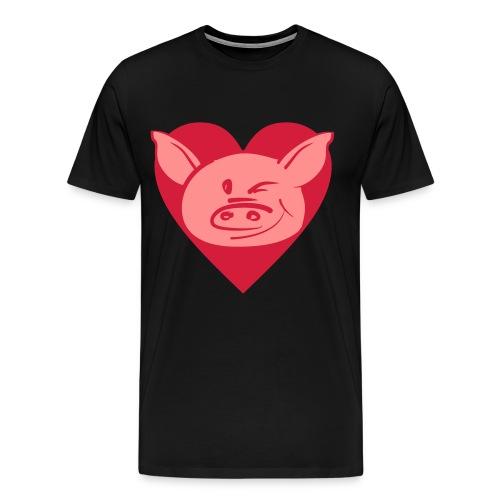 Possu1 - Miesten premium t-paita