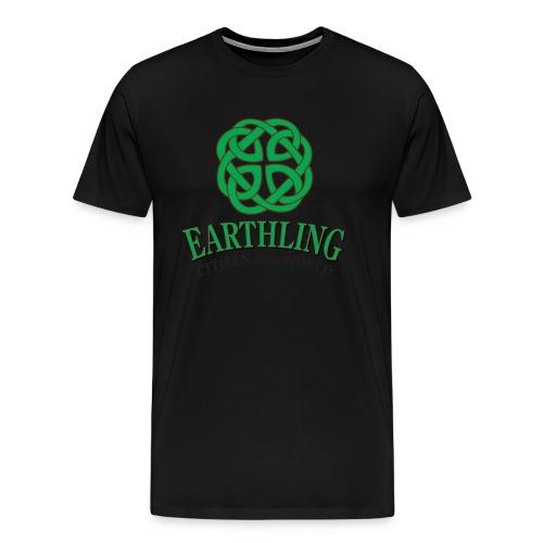 Earthling - Citizen of the World - Men's Premium T-Shirt